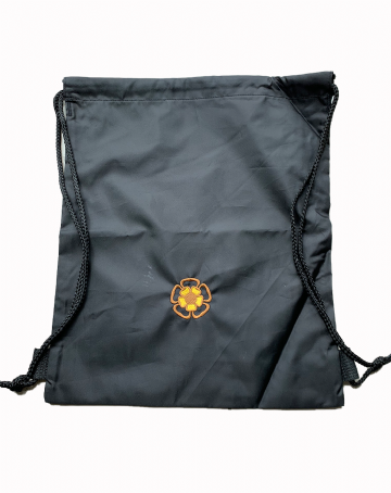 St Teresa's P.E. Bag - Black